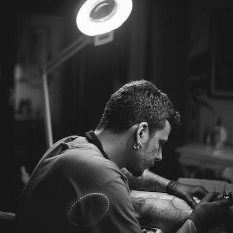 VAWAA tattoo artist, Taiom.