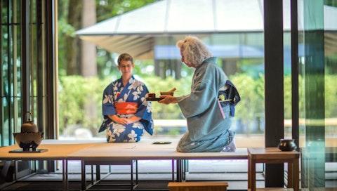 Demonstration of Chado, the Art of Tea at the Portland Japanese Garden. Courtesy of Jonathan Ley.