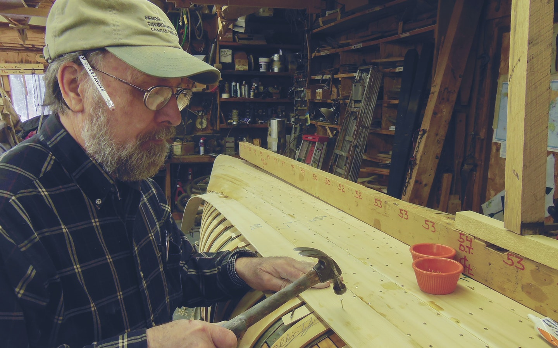 Handbuilding Canoes with Rollin
