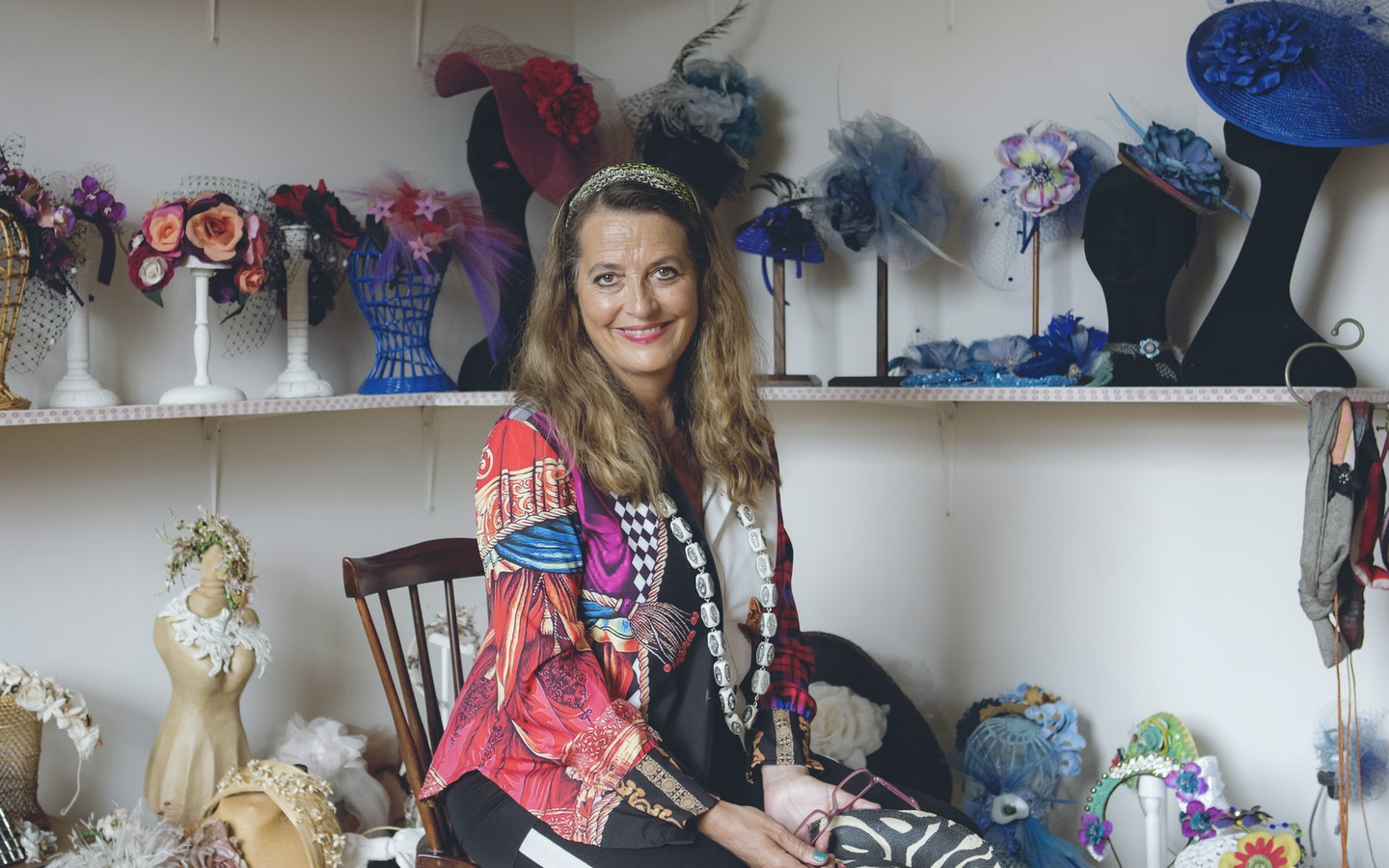 Millinery with Almudena