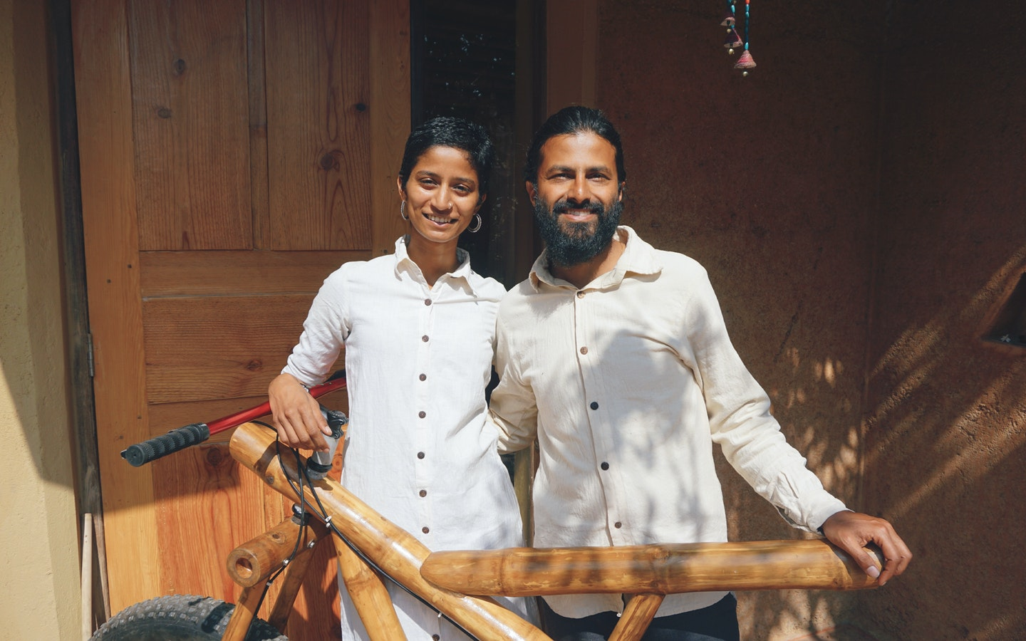 Bamboo Crafts and Earthen Construction with Nripal & Pranathi