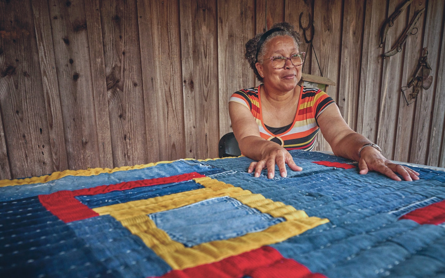 Quilts of Gee's Bend with Loretta & Marlene