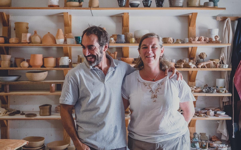 Rustic Mediterranean Style Ceramics with Cesar & Emma