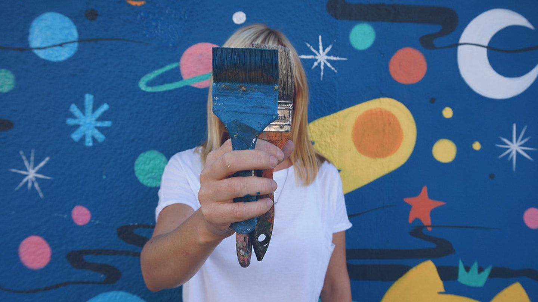 Learn street art with Pum Pum in Argentina.