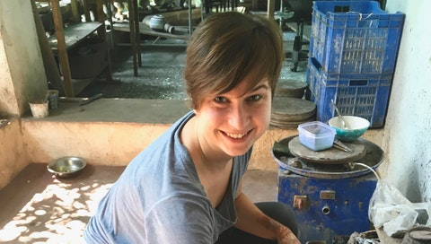 Rediscovering the inner artist and practicing creativity in India. Courtesy of Julia Zoellner.