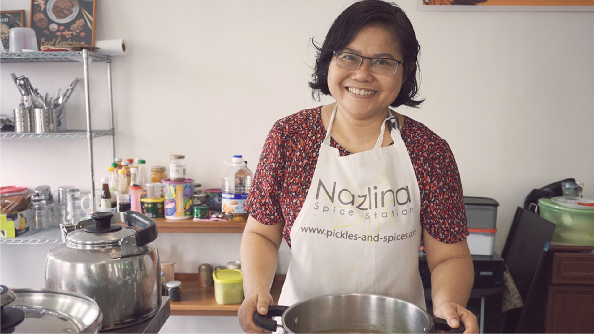 Malay Art of Cooking Healing Food with Nazlina