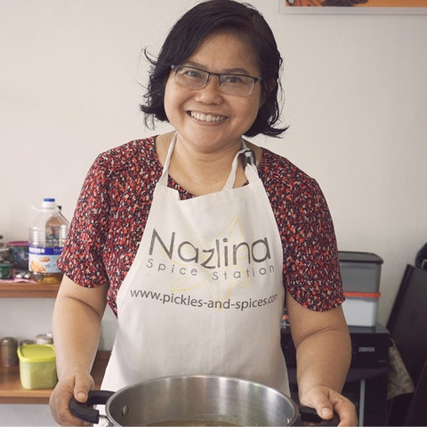 Learn the Malay art of cooking healing food with Nazlina in Malaysia.