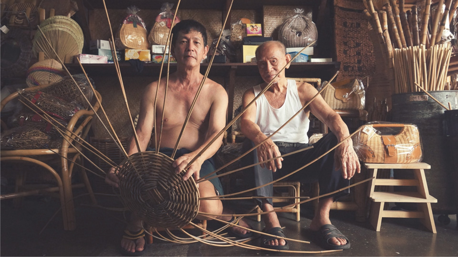 Rattan Weaving with Sim