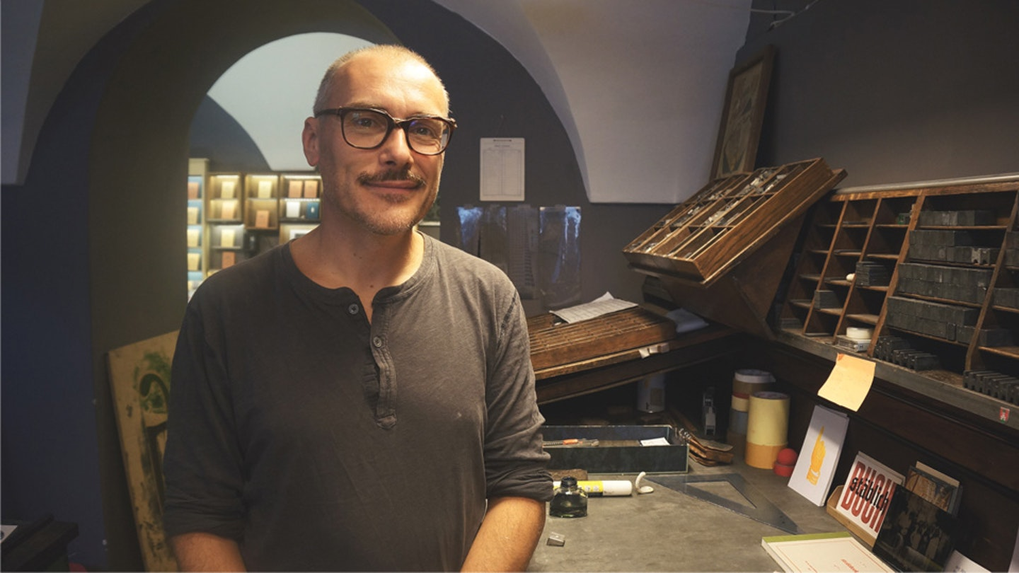 Learn letter carving and letterpress with Marko in Slovenia.