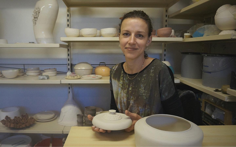 Learn contemporary ceramics with Katja in Slovenia.