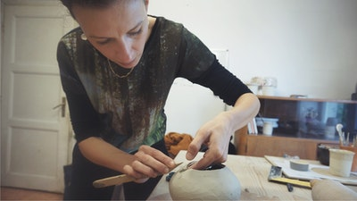 Make your own pottery practicing hand building techniques like slab, pinch and coil.