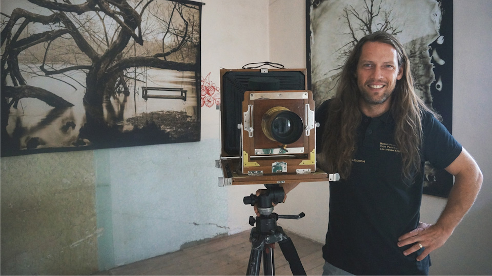 Wet Plate Collodion Photo Expedition with Borut