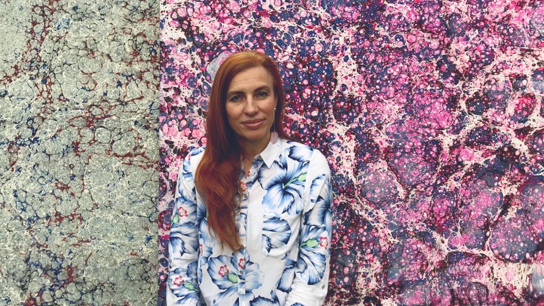 Ebru Painting with Silvia