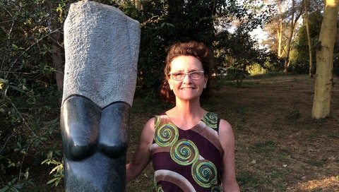 """Read the story of how Sarika made her first stone sculpture 