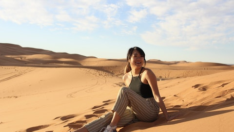 """""""Read Zoe's story about transformational travel experience in the Moroccan desert.  #vawaa #creativevacation #travel #morrocco #solotravel #women """""""