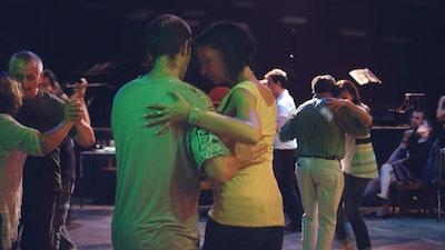 Practice dancing tango in milongas in the city.