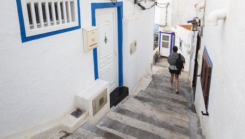 Sarah strolling around Gran Canaria, Spain. Courtesy of Tomás.