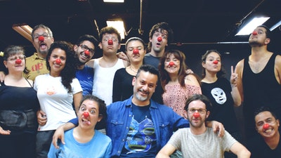 Using clowning as a fun tool for creative expression and social.