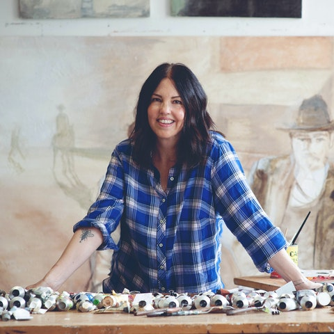 Learn encaustic, an ancient method of painting with molten colored wax and resin in the quaint Historic Garden District of Philadelphia with Clarissa | Art & Travel Experience via VAWAA Vacation with an Artist #art #artist #painting #philadelphia #wax #crafts #creativevacation #vawaa