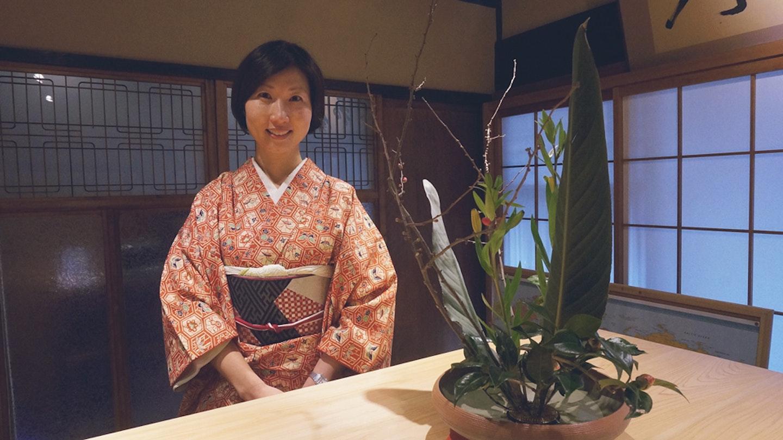 Ikebana with Kimiko