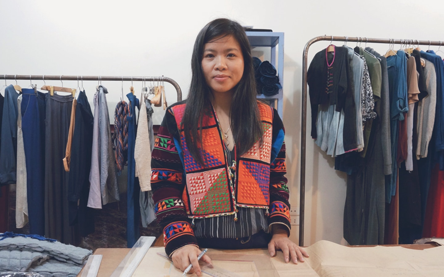 Meet Thao, Vietnam's leading textile  designer. She teaches  traditional Vietnamese techniques for natural dyeing, and beeswax printing with natural dyes made from indigo, yam, and magenta plants.  #creativevacation #vawaa  #travelasia #vietnam #creativity #sustainablefashion #naturalfabricdyeing #naturalfabricdyeingtechniques #slowtravel #naturalfabricdyeingideas #diyfabrics #crafts #howtomake #indigo