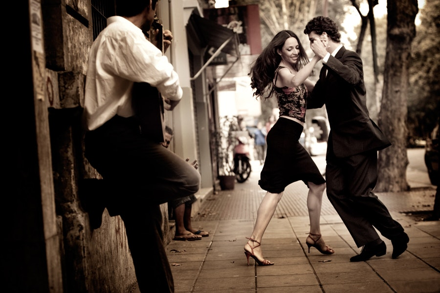 Viviana   julio dancing in street edited